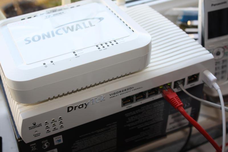 Clevedon Computer Repairs - Sonicwall and Draytek
